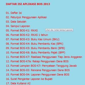 Aplikasi BOS 2103